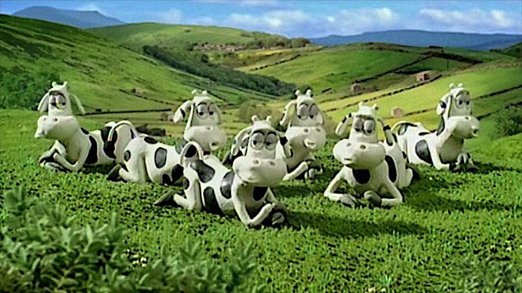 Dairylea – Cows in the loft